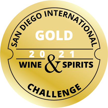 San Diego Wine Challenge Gold badge