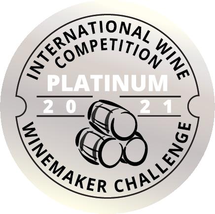 Winemaker's Challenge Platinum Badge